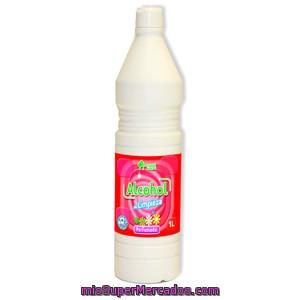 Comprar alcohol limpieza perfumado bosque verde botella 1 l - Alcohol de limpieza ...