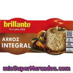 Arroz Cocido Integral, Brillante, Pack Tarrina 2 X 125 G - 250 G
