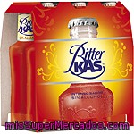 Bitter Kas Refresco Amargo Sin Alcohol Pack 6 Botella 20 Cl