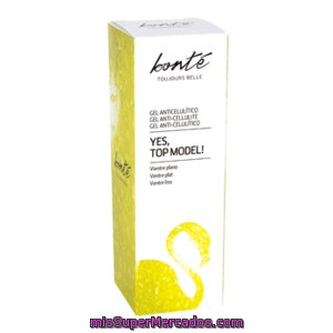 Bonte Gel Anticelulitico Vientre Plano Tubo 200ml