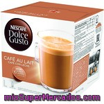 Cafe Capsula (compatible Cafetera Dolce Gusto) Cafe Con Leche, Dolce Gusto, Caja 16 U - 160 G