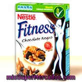 Cereal Copos Chocolate Negro Fitness, Nestle, Caja 450 G