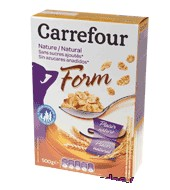 Cereales Natural Form Carrefour 500 G.