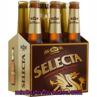 Cerveza Rubia Selecta, San Miguel, Botellin Pack 6 X 330 Cc - 1980 Cc