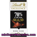 Chocolate             Lindt Excellence 70% 100 Grs