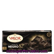 Chocolate Negro Valor 170 G.