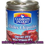 Clemente Jacques Chiles Chipotles Adobados Lata 105 G Neto Escurrido