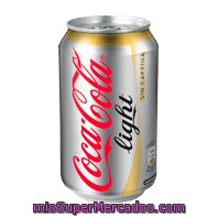 Coca-cola             Light Sin Cafeina 33 Cl 8 Uni