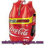 Coca Cola Normal Botella Pack 4x2l