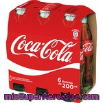 Coca Cola Normal Botella Pack 6x20cl