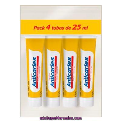 Dentifrico pasta anticaries fluor viaje deliplus tubo for Pasta para quitar gotele precio