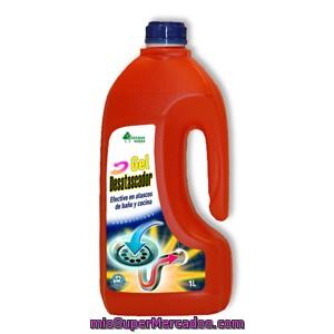 Desatascador gel botella naranja bosque verde botella - Productos para desatascar tuberias ...