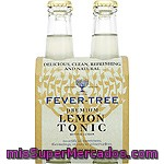 Fever Tree Premium Refresco Tónica Con Limón Pack 4 Botella 20 Cl