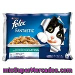 Filetitos             Felix Sabor Mar 4x 100 Grs