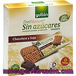 Galleta Snack Chocolate Y Soja Diet Nature Gullón 144 G.