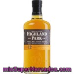 Highland Whisky Escocés 12 Años Botella 75 Cl