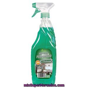 Multiusos perfumado pistola bosque verde botella 1 l mercadona