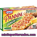 Pannini Dr.             Oetker Jamon Y Queso 250 Grs
