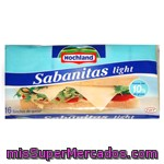 Queso Lonchas Fundir Light, Hochland, Paquete 300 G