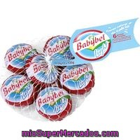 Queso Mini Babybel Light Babybel 6 Unidades De 20 Gramos