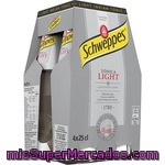 Schweppes Tónica Light Pack 4 Botella 25 Cl