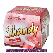Shandy Sabor Granadina Carrefour Pack 6x25 Cl.