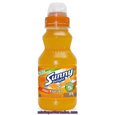 Sunny Delight Florida Refresco Multifrutas Envase 310 Ml
