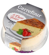 Tarta De Queso Fresco Carrefour 200 G.