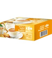 Té English Breakfast Carrefour 50 Ud.