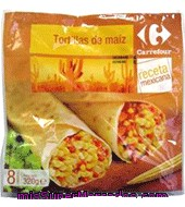 Tortillas De Maíz Carrefour 320 G.