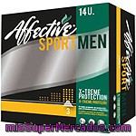 Affective Compresa De Incontinencia Sport Men X-treme Protection Caja 14 Unidades