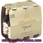 Alhambra Cerveza Especial Pack 6 Botellas 25 Cl