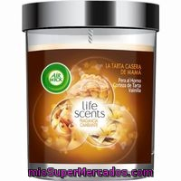 Ambientador Vela Life Scents Tarta Mama Airwick, Pack 1 Unid.
