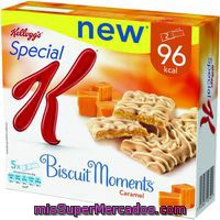 Barritas Cereal Biscuit Moments Caramelo Kellogg`s, 125 G