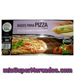 Base Pizza Refrigerada, Hacendado, Pack 2 U - 520 G