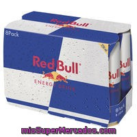 Bebida Energética Red Bull, Pack 8x25 Cl