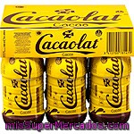 Cacaolat Batido De Cacao Pack 6 Botellas 200 Ml