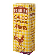 Caldo Natural De Pollo Familiar Aneto 1,5 L.