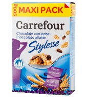Cereal Stylesse Con Chocolate Con Leche Carrefour 500 G.