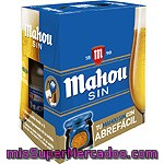 Cerveza Sin Alcohol Mahou, Pack 6x25 Cl