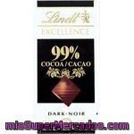 Chocolate Excellence 99% Lindt 50 G.