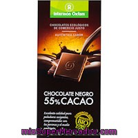 Chocolate Negro 55% Oxfam, Tableta 100 G
