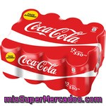Coca Cola Normal Lata Pack 12x33cl