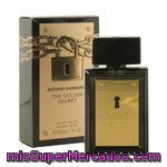 Colonia Para Hombre Golden Secret A. Banderas, Vaporizador 50 M