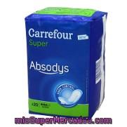 c12ebb8fe826 Compresa Incontinencia Super Absodys Carrefour 20 Ud.