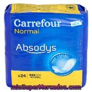 ebd42da0e0db Compresas incontinencia normal absodys carrefour 24 ud., precio ...