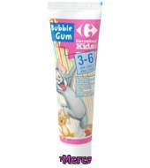 Dentífrico Bubble Gum 3-6 Años Carrefour Kids 50 Ml.