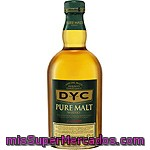 Dyc Whisky De Malta Botella 70 Cl