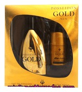 Estuche Colonia Gold 150 Ml. + Aftershave 50 Ml. Posseidon 1 Ud.