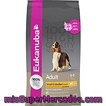 Eukanuba Adult Small & Medium Breed Alimento Completo Para Perro Adulto Con Cordero Y Arroz Bolsa 12 Kg
